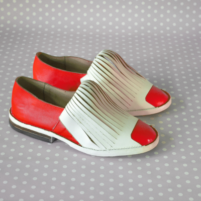Nieve shoes Punto shoes by Fernando Echeverria