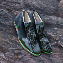 Andes jungle Punto shoes by Fernando Echeverria